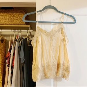 Lace Cami - Cream/Off White